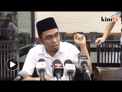 'Kerusi dibaling pada saya, bukan tuju Mahathir'