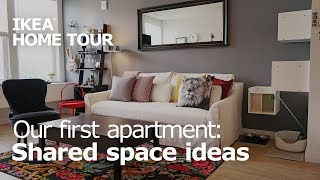 Apartment Shared Space Ideas  - IKEA Home Tour (Episode 410)