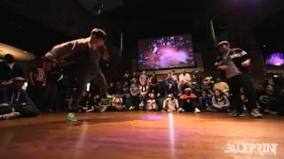 The Blueprint 2015 - House Dance Top 16 - Julio vs Jose