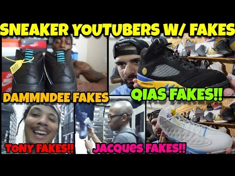 DammnDee Exposed, Qias Exposed, TonyD2Wild Exposed, Jacques Slade Exposed With Fake Shoes!!!