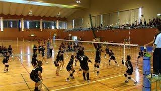 第59回県民体育大会熊毛地区大会女子バレーボール競技ダイジェスト