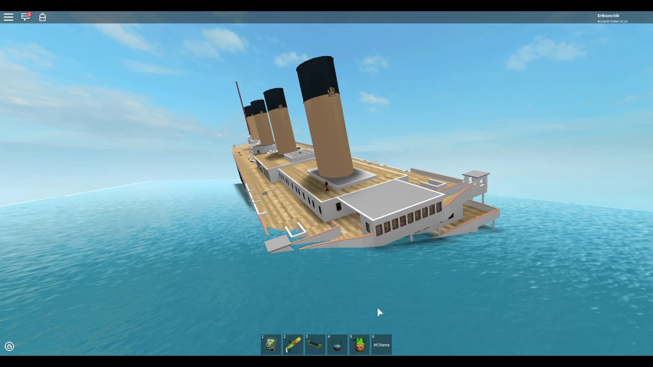 Titanic 2 Sinking - YouTube