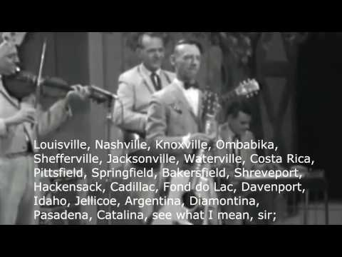 Hank Snow -  I've Been Everywhere (lyric)