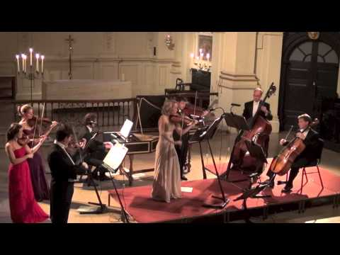 London Concertante: Bach Violin Concerto in A minor at St. Martin-in-the-Fields, August 2013