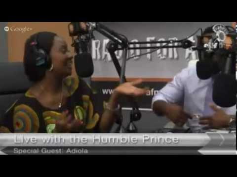 Adeola Fayehun of Keeping It Real on Sahara FM Radio