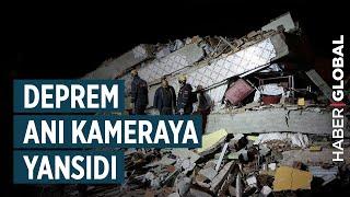 Elazığ'da Deprem Anı Güvenlik Kameralarına Yansıdı (YENİ GÖRÜNTÜLER)