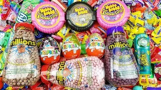 Millions of Candies A lot of Candy Learn Colors with Candies