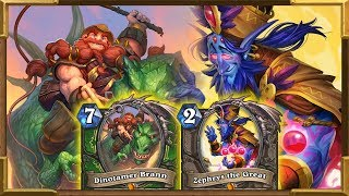 Hearthstone: Highlander Hunter Is The Best |So Much Fun |ZEPHRYS |DINOTAMER BRANN | Saviors Of Uldum