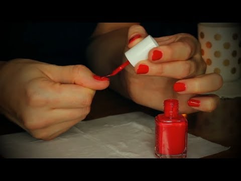 ❥ ASMR manicure, nail polish tutorial & collection ❥ soft spoken manicure