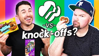 Girl Scouts Cookies vs Imitation Knock-Offs Taste Test
