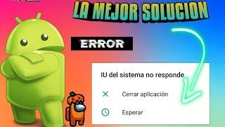 IU de sistema se detuvo en Android fasil y rápido febrero 2020