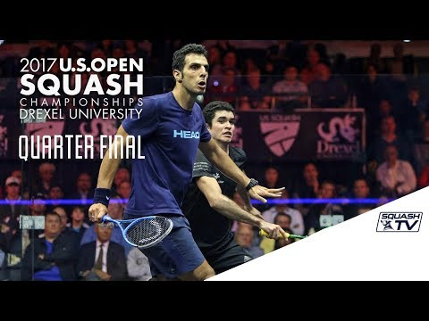 Squash: Men's QF Roundup Pt. 2 - U.S. Open 2017