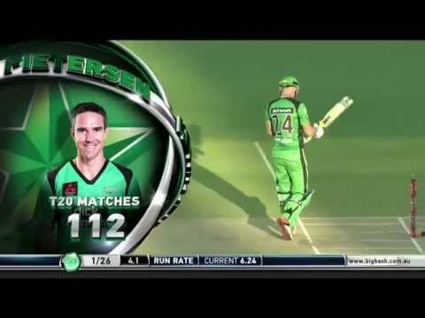 Kevin Pietersen does a Dhoni in Big Bash
