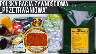 POLSKA PRZETRWANIOWA RACJA ŻYWNOŚCIOWA  | Test, recenzja, unboxing #70