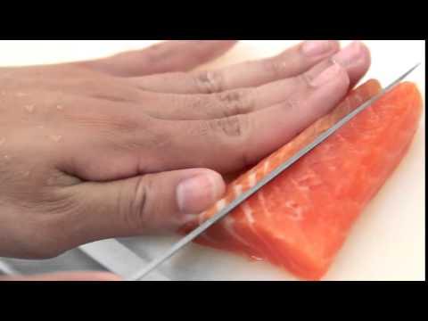 Como usar a Faca para Sushi Tamasaburo Kataoka