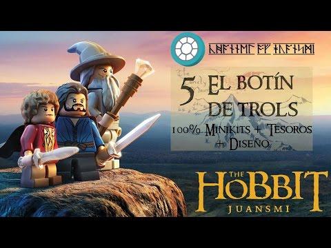 LEGO El Hobbit | 5 El botín de trols 100 % Minikits + Tesoros + Diseños