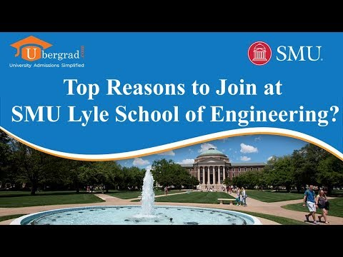 Top Reasons to Join at SMU Lyle School of Engineering