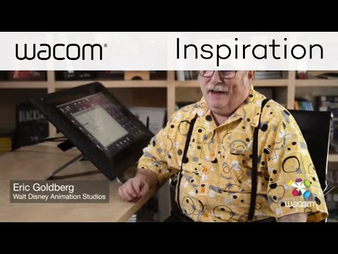 Animator Eric Goldberg in conversation with Wacom