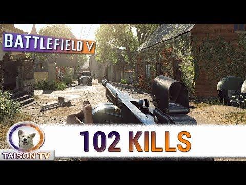Battlefield V 102 Kills en Francia! Grandes Operaciones thumbnail