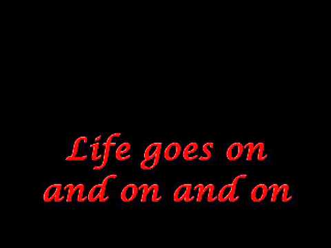Leann Rimes - Life goes on (lyrics) MV version