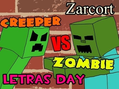 creepers v.s zombies