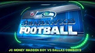 MADDEN 13 GAMEPLAY SEAHAWKS vs COWBOYS! EPIC! (gameplay commentary