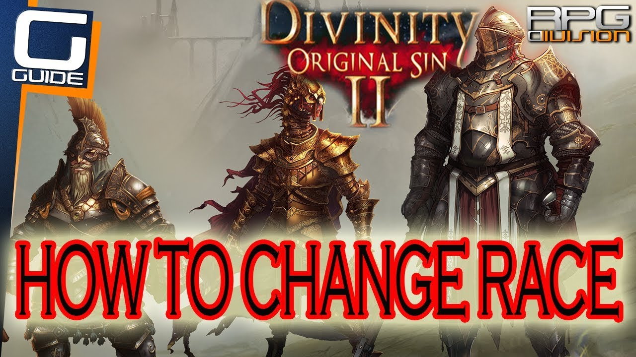 DIVINITY ORIGINAL SIN 2 - How to change Race (How to use faces from  Faceripper)