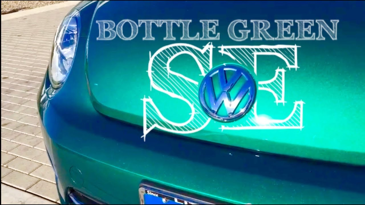 Bottle Green 2018 Vw Beetle Se