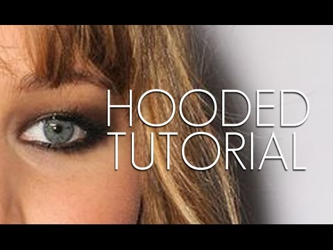 SMOKEY EYE TUTORIAL FOR VERY HOODED EYES / SMALL LIDS