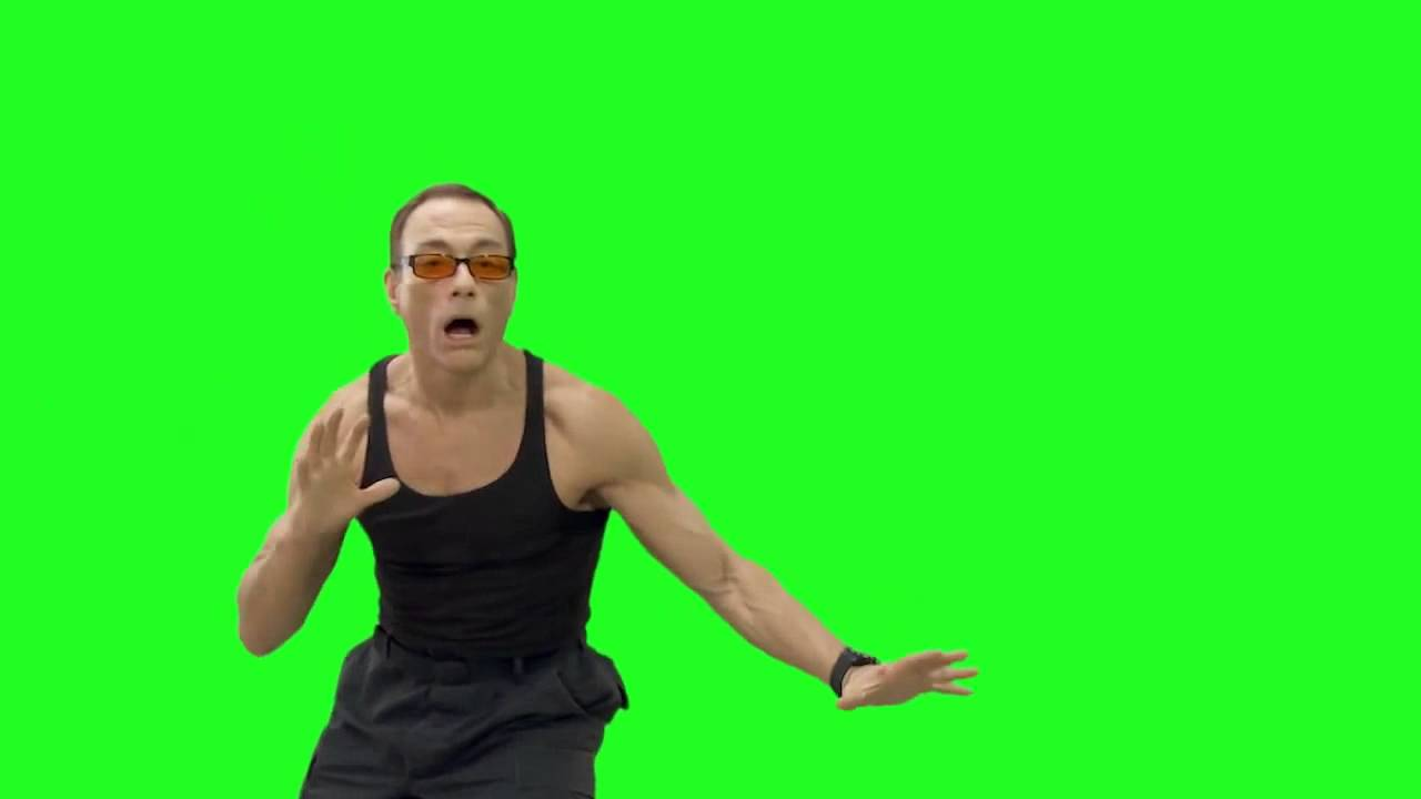 how to add image to green screen