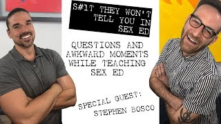 Questions and Awkward Moments While Teaching Sex Ed: Teachers Talk About Teaching Sex Ed