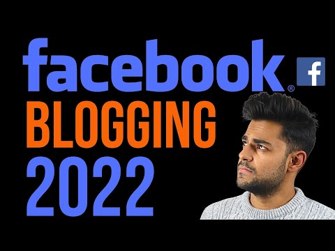 Facebook Blogging In 2020 - 3 Minute Setup!