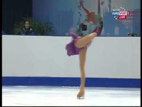 Gabrielle Daleman - 2013 World Junior Championships - LP