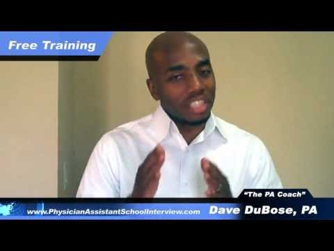 Physician Assistant School Interview---How To ACE It.