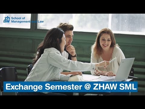 Exchange Semester @ ZHAW SML - Get Ready for Your Swiss Experience
