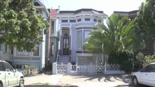 Potrero Hill neighborhood homes in San Francisco, CA