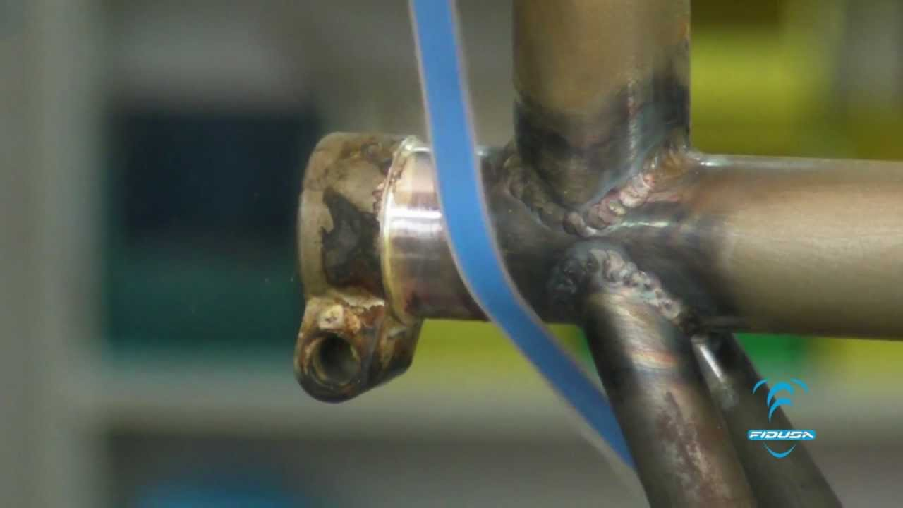 fidusa custom chromoly bike frame build part 2
