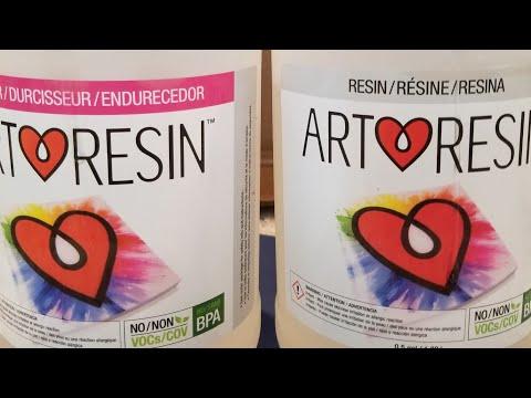 (321.5) Art Resin tutorial
