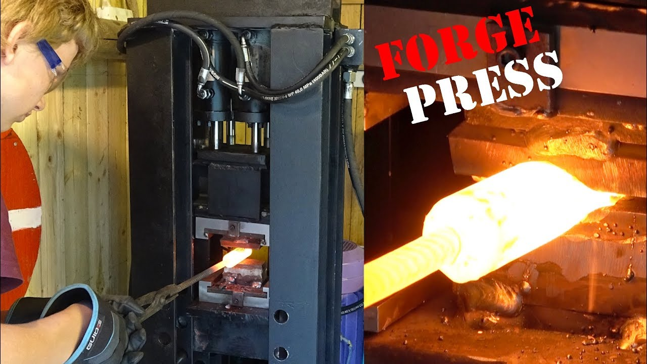 building forge press for