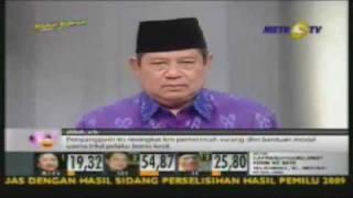 SBY dalam debat capres II