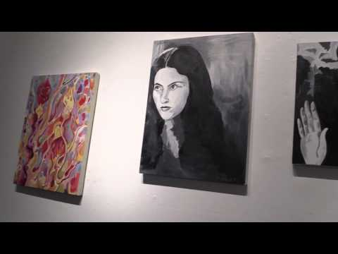 Erik Volet at the Fifty Fifty Arts Collective - 2015