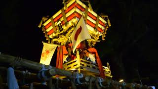 H29 日和佐八幡神社秋祭り 戎町 宵宮.