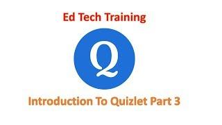 Quizlet An Introduction Part 3