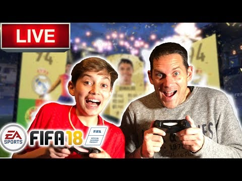 Fifa 18 Fut LIVE Electrum Pack Opening! - WE PACKED KROOS!!