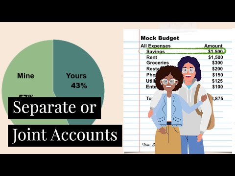 Should Couples Have Joint or Separate Accounts | Marriage & Money