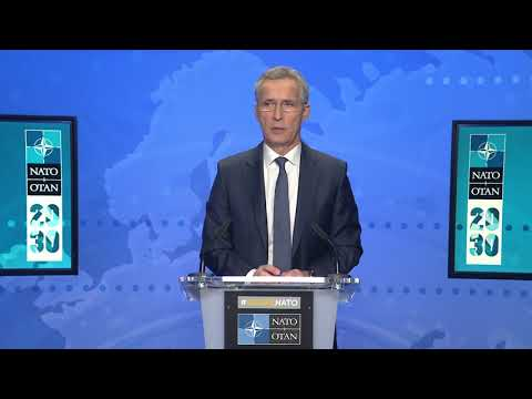 NATO Secretary General, Press Conference at Foreign Ministers Meeting, 02 DEC 2020