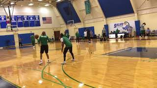 Kyrie Irving, Terry Rozier play 1-on-1 at Boston Celtics practice (part 2)