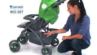 Бебешка количка   Lorelli   Combi Stroller RIO SET   цена от 4BABY BG(WWW.4BABY.BG - Тук може да откриете нашите детски играчки стоки за бебето както и игри сортирани по категории...., 2015-03-07T16:47:09.000Z)