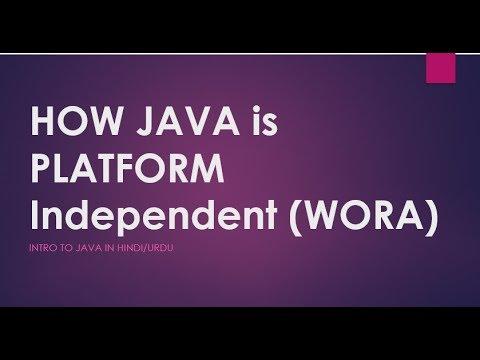 JAVA for Beginners JAVA Platform Independence Example  Learn JAVA in Hindi/Urdu