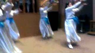 TAMBOURINE DANCERS ICAFM HK....MAKE A JOYFUL NOISE UNTO THE LORD DURING Praise AND WORSHIP service.
